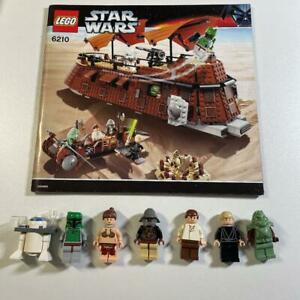 LEGO Star Wars Jabba's Sail Barge 6210 In 2006 Used Retired