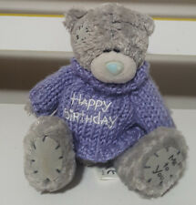 ME TO YOU CARTE BLANCHE HAPPY BIRTHDAY TEDDY BEAR PLUSH TOY SOFT TOY 13CM TALL