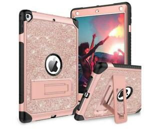 For Apple iPad 5th 6th 7th Kids Girl Heavy Duty Protective Full Hard Hybrid Case
