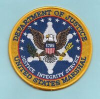 C28 * USMS MARSHAL DISTRICT FBI VOFTF FUGITIVE TASKFORCE FEDERAL POLICE PATCH
