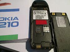 Nokia 6210 NERO simfrei operatore LIBRETTO AUTO caricatrici SUPER OK Gebr. 23 P
