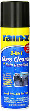 Rain-X 2-in-1 GLASS CLEANER Rain Repellent STREAK-FREE DRIP-FREE CLEAN Mirror HQ