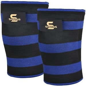 SAWANS® Double Ply Knee Sleeves Power Lifting Bodybuilding Strongman Gym Support