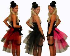 """PLUS SIZE 26"""" Burlesque Bustle Belt  Moulon Rouge Halloween Fancy Dress"""