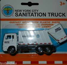 New York City NYC Sanitation Department Garbage Truck 1:87 Scale Diecast New