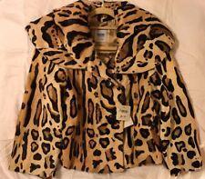 MOSCHINO Cheap & Chic Leopard-print Coat