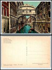 ITALY Postcard - Venice, The Bridge Of Sighs CY