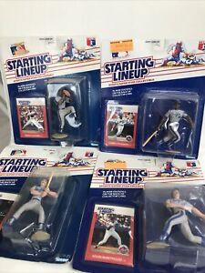 1989 STARTING LINEUP - SLU - MLB - GOODEN STRAWBERRY - NEW YORK METS LOT Of 4!!