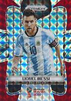 2018 Panini Prizm World Cup Russia '18 Argentina Red Mosaic Parallel (#1 - #12)
