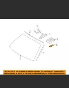 BMW OEM 08-14 X6 Windshield-Drip Molding Clip 51317064098 QUANTITY 20