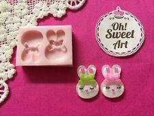 Hello Kitty bunny silicone Mold  Cake Decoration Candy Cupcake (FDA)