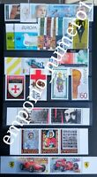 BULGARIA 2008 COMPLETE YEAR-SET + IMPERFORATE SOUV. SHEETS, MNH, FREE SHIPPING
