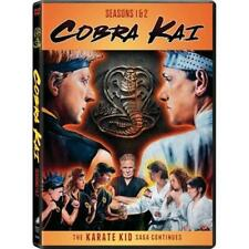 Cobra Kai - Season 1 & 2 DVD TV 4 Disc Set The Karate Kid Saga Continues