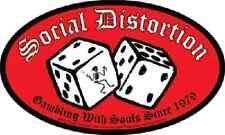 Social Distortion - Dice Logo Sticker