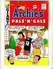 "Archie's Pals 'N"" Gals 10 (1959): Free to combine- in Good/Very Good condition"