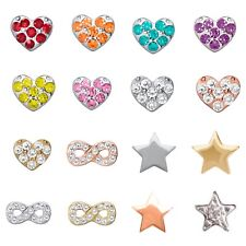 Authentic Origami Owl Classic ACCENT Floating Charms $2 Combined Shipping