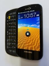 Sprint 4G Epic SPH-D700 Black Smartphone Android Expo Patriot Galaxy Cellphone