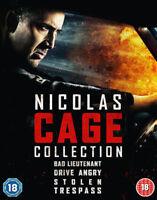 bad lieutenant / DRIVE ANGRY /STOLEN/Trespass BLU-RAY NUEVO Blu-ray (lgb95244)