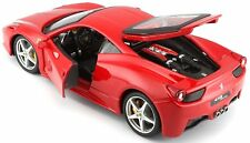Ferrari 458 Italia Red 1:24 Diecast Model - 26003RD *