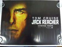 Jack Reacher Tom Cruise Thriller Original Filmposter Advance Quad 76x102cm