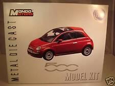 KIT NEW FIAT 500 ROUGE - 1/24 MONDO MOTORS