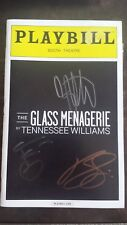 The Glass Menagerie Zachary Quinto Celia Keenan-Bolger CAST SIGNED Playbill
