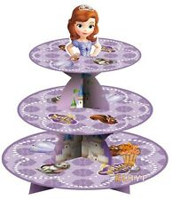 3 Tier Cupcake Stand Cup Cake Cases Toppers Wrappers,Sofia the First Princess
