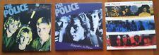 POLICE 3 MINI LP CD :  REGGATTA - OUTLANDOS - SYNCHRONICITY - STING