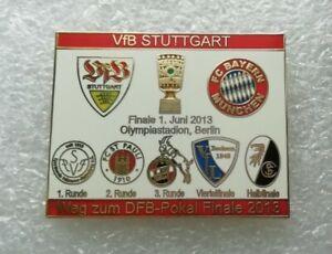VfB Stuttgart Pin DFB Pokal Finale 2013 Fussball Anstecker