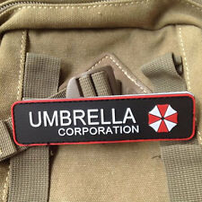 Umbrella Corporation Tactical Patch Rubber Morale Special Badge 3D Military