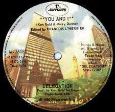 """DELEGATION - YOU AND I / PUT A LITTLE LOVE ON ME - 12"""""""