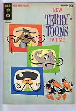 New Terry-Toons TV Time #1 Gold Key 1962 Panel missing