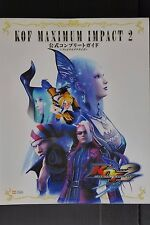 JAPAN The King of Fighters Maximum Impact 2 Official Complete Guide Not With DVD