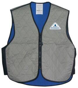 Hyper Kewl Evaporating Cooling Vest Silver Men's Size Medium 2830-0100