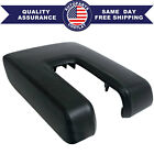 Leather Center Console Armrest Lid Cover For Toyota Tundra 2014-2019 Black