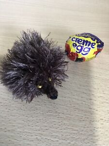 Hand Knitted Hedgehog For Creme Egg
