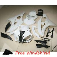 Unpainted Fairing Bodywork Shell Cowl Kit For Yamaha YZF R6 YZF-R6 YZFR6 06-07