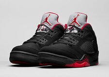 Men's Nike Air Jordan V 5 Retro Low Basketball Shoes -Size 10 -819171 001 <New>