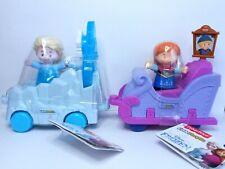 NEW Fisher-Price Little People Disney Frozen Parade Princess Elsa & Anna Float W