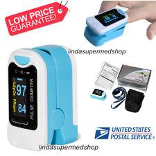 FDA Finger Tip Pulse Oximeter Blood Oxygen Meter Rate Monitor OLED CONTEC CMS50N