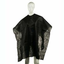 Mantellina monouso nera taglio mantella tnt per parrucchiere barbiere monouso.