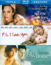 THE TIME TRAVELER'S WIFE/P.S. I LOVE YOU/THE LAKE HOUSE NEW BLU-RAY