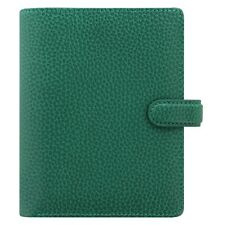 Filofax Pocket Finsbury Leather Organizer/Planner Forest Green -025448 Brand New
