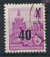 DDR 440Y stehendes Wasserzeichen gestempelt 1954 Fünfjahresplan (9182725