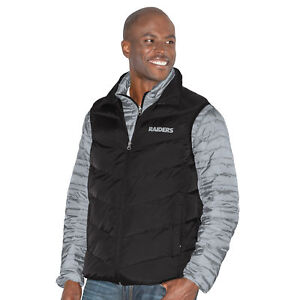 """Oakland Raiders G-III NFL """"Three N Out"""" Systems 3-in-1 Premium Vest Jacket"""