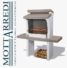 barbecue in muratura Sondrio Sarom calcestruzzo alleggerito a carbonella legna