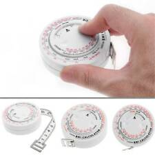 Home Use BMI Body Mass Index Retractable Tape 150cm Measure Calculator Practical