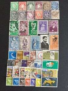 Selection Of IRISH Stamps. As Illustrated. All Different. Fine Used.