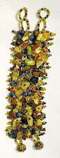 Handgefertigte gefädelte Modeschmuck-Armbänder mit Perlen (Imitation)