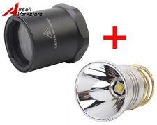 1000 Lumens XM-L2 LED Conversion Head Bezel for Surefire 6P 9P G2 G3 C2
